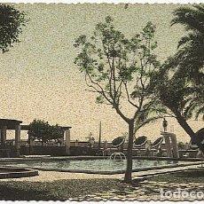 Postales: X116508 ANDALUCIA COSTA DEL SOL MALAGA HOTEL MIRAMAR PISCINA PLANO RARO EN COLOR. Lote 84786876