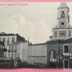 Postales: POSTAL. CUARTEL E IGLESIA DE LA TRINIDAD. MÁLAGA.. Lote 84835976