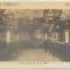 Postales: POSTAL ANTIGUA DE SEVILLA: ALMACEN DE TEJIDOS -NUEVA CIUDAD- P-ANSE-1919. Lote 85386104