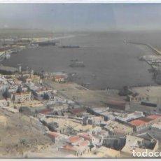Postales: POSTAL ALMERIA VISTA GENERAL DEL PUERTO ED. ARRIBAS N° 1003 COLOREADA . Lote 85445680