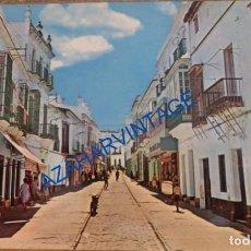 Postales: CHICLANA DE LA FRONTERA, CADIZ, CALLE JOAQUIN ARBOLÍ, EDIT.BEASCOA, MUY RARA. Lote 85493196