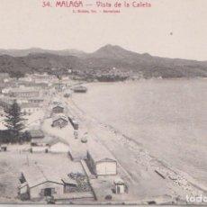 Postales: MALAGA - VISTA DE LA CALETA. Lote 85568760