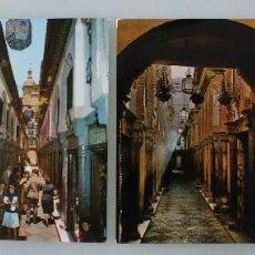 Postales: ANTIGUAS POSTALES COLOR DE GRANADA: ALCAICERIA – AÑOS 60 - CIRCULADAS. Lote 85663144