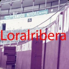 Postales: DIAPOSITIVA ESPAÑA MÁLAGA PLAZA TOROS 1972 AGFACHROME 35MM SLIDE SPAIN PHOTO FOTO ZANUSSI MOTOAL. Lote 86534560