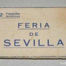 Cartes Postales: ANTIGUO ESTUCHE POSTALES ACORDEÓN, FERIA DE SEVILLA. AÑOS 60.. Lote 86549896