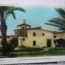 Postales: POSTAL HUELVA - LA RABIDA MONASTERIO STA.MARIA - EDIC-ARRIBAS -COLOREADA CM. Lote 86634140