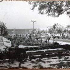 Postales: POSTAL FOTOGRAFICA MARBELLA, MALAGA, PASEO DE JOSE ANTONIO PRIMO DE RIVERA, AÑO 1958. Lote 86657368