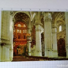 Postales: POSTAL SERIE 45 Nº 231 - GRANADA - CATEDRAL, CAPILLA MAYOR Y COLUMNAS - ED. ZERKOWITZ 1967. Lote 86701644
