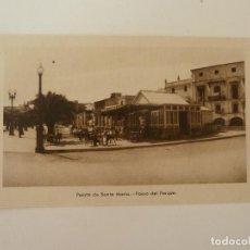 Cartes Postales: PUERTO DE SANTA MARÍA. CÁDIZ. PASEO DEL PARQUE. GRÁFICAS ANDALUZAS.. Lote 86710164