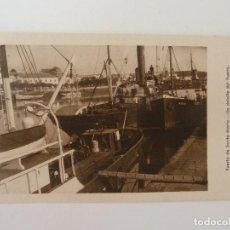 Cartes Postales: PUERTO DE SANTA MARÍA. CÁDIZ. UN DETALLE DEL PUERTO. GRÁFICAS ANDALUZAS.. Lote 228323175