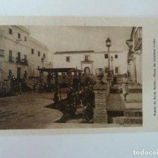 Cartes Postales: PUERTO DE SANTA MARÍA. CÁDIZ. PLAZA DE CRISTÓBAL COLÓN. GRÁFICAS ANDALUZAS.. Lote 86711412