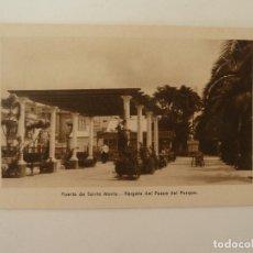Cartes Postales: PUERTO DE SANTA MARÍA. CÁDIZ. PÉRGOLA DEL PASEO DEL PARQUE. GRÁFICAS ANDALUZAS.. Lote 86712732