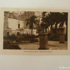 Cartes Postales: PUERTO DE SANTA MARÍA. CÁDIZ. PARQUE DE CALDERÓN. GRÁFICAS ANDALUZAS.. Lote 86713924