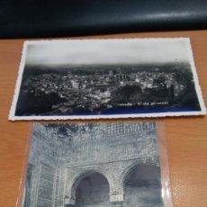 Postales: 2 POSTALES DE GRANADA . Lote 86811583