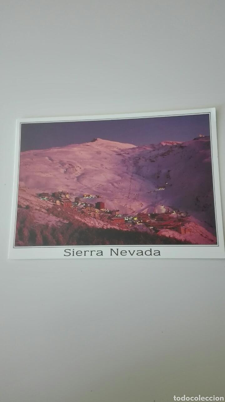 POSTAL SIERRA NEVADA , GRANADA (Postales - España - Andalucia Moderna (desde 1.940))
