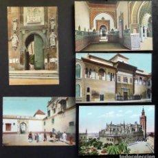 Postales: 5 ANTIGUAS POSTALES COLOREADAS DE SEVILLA, NUEVAS SIN CIRCULAR.VER DETALLE EN FOTOGRAFÍAS . Lote 87048944