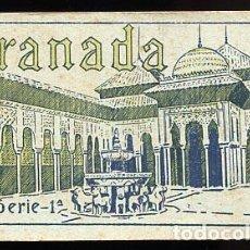 Postales: GRANADA BLOC CON 14 POSTALES SERIE 1ª, ED. SUCESOR DE CASSO. GRAFOS. SIN CIRCULAR. Lote 87539164