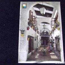 Postales: MALAGA-V43-COSTA DEL SOL-CIRCULADA-TORREMOLINOS-LA NOGALERA. Lote 87633392