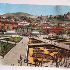 Postales: POSTAL GRANADA - JARDINES Y FUENTE MONUMENTAL DEL TRIUNFO - 1961 - ARRIBAS 2044 - CIRCULADA. Lote 88116292