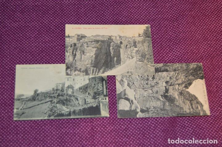Postales: LOTE 7 POSTALES DE RONDA - FOTOTIPIA - SIN CIRCULAR - PRINCIPIO SIGLO - PRINCIPIO 1900 - HAZ OFERTA - Foto 2 - 89048476