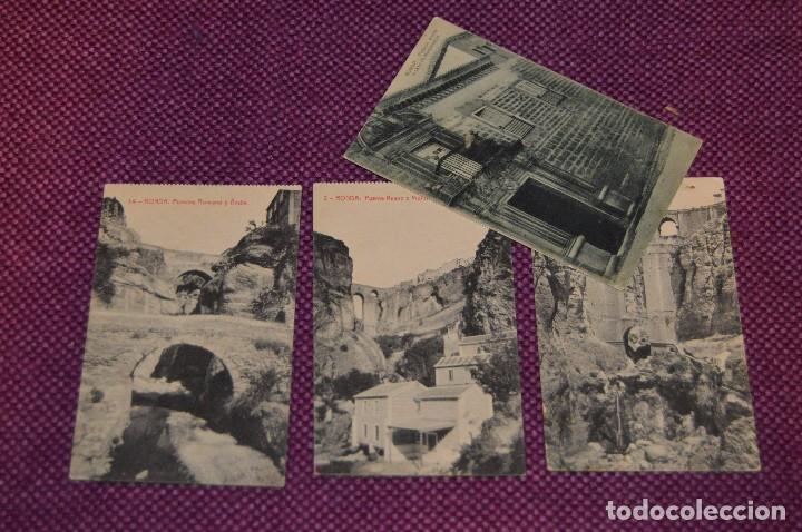 Postales: LOTE 7 POSTALES DE RONDA - FOTOTIPIA - SIN CIRCULAR - PRINCIPIO SIGLO - PRINCIPIO 1900 - HAZ OFERTA - Foto 3 - 89048476