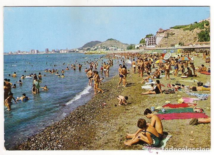 Banos Del.63482 Postal Playa Banos Del Carmen Malaga Ediciones Vistabella Balneario