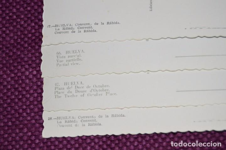 Postales: LOTE DE 20 POSTALES ANTIGUAS - HUELVA Y PROVINCIA - PRECIOSAS, MUY ANTIGUAS - AÑOS 60 - HAZME OFERTA - Foto 4 - 89547672