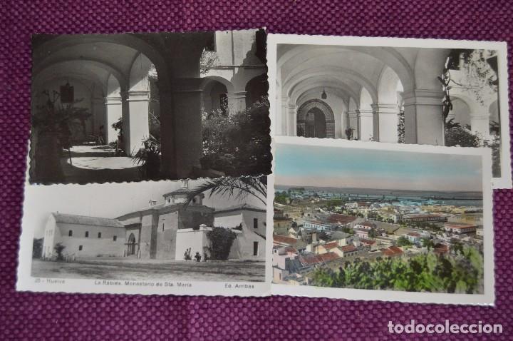 Postales: LOTE DE 20 POSTALES ANTIGUAS - HUELVA Y PROVINCIA - PRECIOSAS, MUY ANTIGUAS - AÑOS 60 - HAZME OFERTA - Foto 7 - 89547672