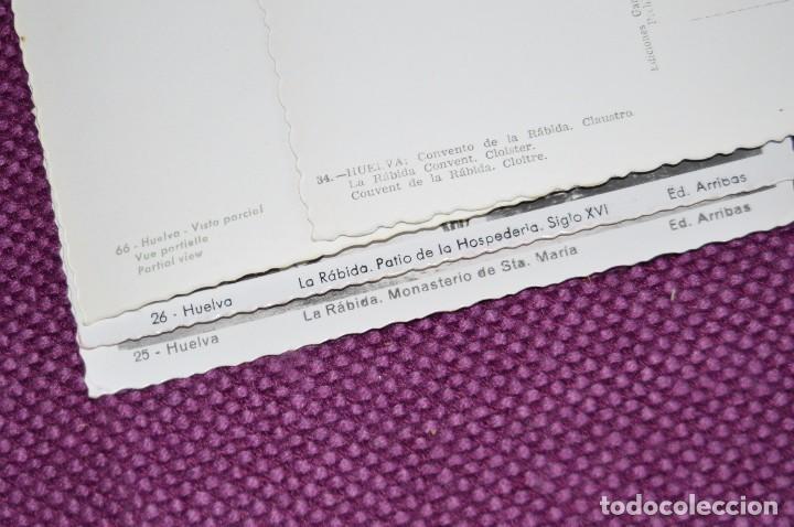 Postales: LOTE DE 20 POSTALES ANTIGUAS - HUELVA Y PROVINCIA - PRECIOSAS, MUY ANTIGUAS - AÑOS 60 - HAZME OFERTA - Foto 8 - 89547672