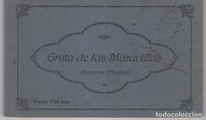 ANTIGUO BLOC DE 12 POSTALES GRUTADE LAS MARAVILLA EN ARACENA ( HUELVA ). FOTÓGRAFO ENRIQUE DUCKER (Postales - España - Andalucía Antigua (hasta 1939))