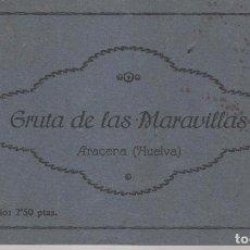 Postales: ANTIGUO BLOC DE 12 POSTALES GRUTADE LAS MARAVILLA EN ARACENA ( HUELVA ). FOTÓGRAFO ENRIQUE DUCKER. Lote 89636832