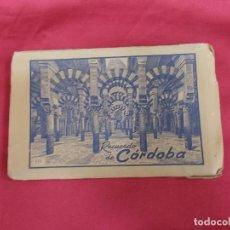Postales: BLOC DE 10 POSTALES. RECUERDO DE CÓRDOBA. EDICIONES ARRIBAS.. Lote 90139792