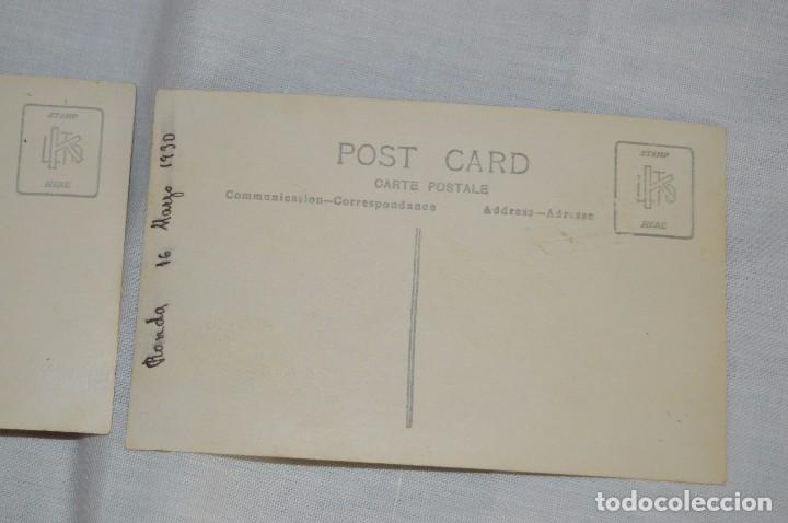 Postales: LOTE DE 2 fotografías POSTALES ANTIGUAS - SIN CIRCULAR - RONDA - MÁLAGA - AÑOS 30 - HAZME UNA OFERTA - Foto 4 - 90336268