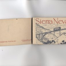 Postales: SIERRA NEVADA. BLOC 20 TARJETAS POSTALES DE SIERRA NEVADA.. Lote 90239684