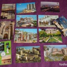 Postales: LOTE DE 12 ANTIGUAS POSTALES DE TORREMOLINOS, MÁLAGA - SIN CIRCULAR - MUY BONITAS - HAZME OFERTA. Lote 90424059