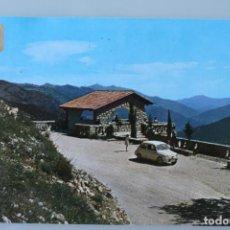 Postales: ANTIGUA POSTAL CAZORLA (JAEN) MIRADOR DEL CAUDILLO AÑOS 60 COCHE EPOCA - DORSO ESCRITO A BOLIGRAFO. Lote 90635995