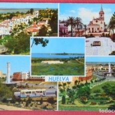 Postales: HUELVA - VARIAS VISTAS - EDICIONES ARRIBAS 2019 - ESCRITA. Lote 90885430