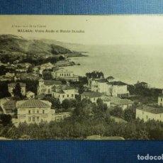 Postales: POSTAL - ESPAÑA - MÁLAGA - VISTA DESDE MONTE SANCHA - HAUSER Y MENET - NE - NC. Lote 91119635
