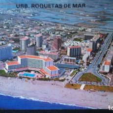 Postales: URBANIZACIÓN ROQUETAS DE MAR - ALMERÍA. Lote 91516405