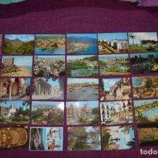 Postales: LOTE DE 34 POSTALES ANTIGUAS - MÁLAGA Y PROVINCIA - PRECIOSAS, MUY ANTIGUAS - AÑOS 60 - HAZME OFERTA. Lote 91576875