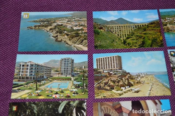 Postales: LOTE DE 34 POSTALES ANTIGUAS - MÁLAGA Y PROVINCIA - PRECIOSAS, MUY ANTIGUAS - AÑOS 60 - HAZME OFERTA - Foto 2 - 91576875