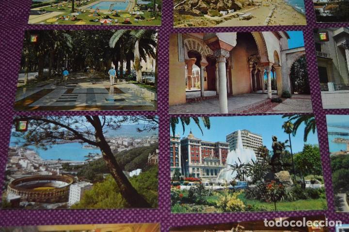 Postales: LOTE DE 34 POSTALES ANTIGUAS - MÁLAGA Y PROVINCIA - PRECIOSAS, MUY ANTIGUAS - AÑOS 60 - HAZME OFERTA - Foto 3 - 91576875