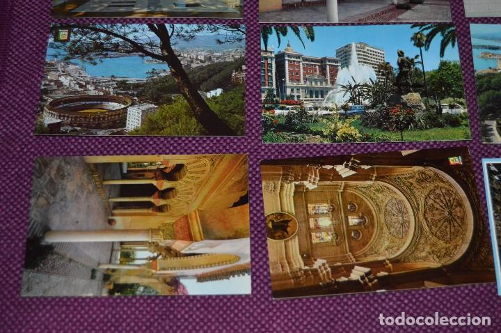 Postales: LOTE DE 34 POSTALES ANTIGUAS - MÁLAGA Y PROVINCIA - PRECIOSAS, MUY ANTIGUAS - AÑOS 60 - HAZME OFERTA - Foto 4 - 91576875