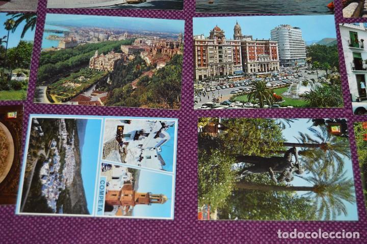 Postales: LOTE DE 34 POSTALES ANTIGUAS - MÁLAGA Y PROVINCIA - PRECIOSAS, MUY ANTIGUAS - AÑOS 60 - HAZME OFERTA - Foto 5 - 91576875