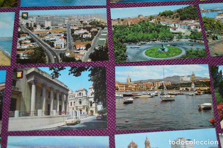 Postales: LOTE DE 34 POSTALES ANTIGUAS - MÁLAGA Y PROVINCIA - PRECIOSAS, MUY ANTIGUAS - AÑOS 60 - HAZME OFERTA - Foto 6 - 91576875
