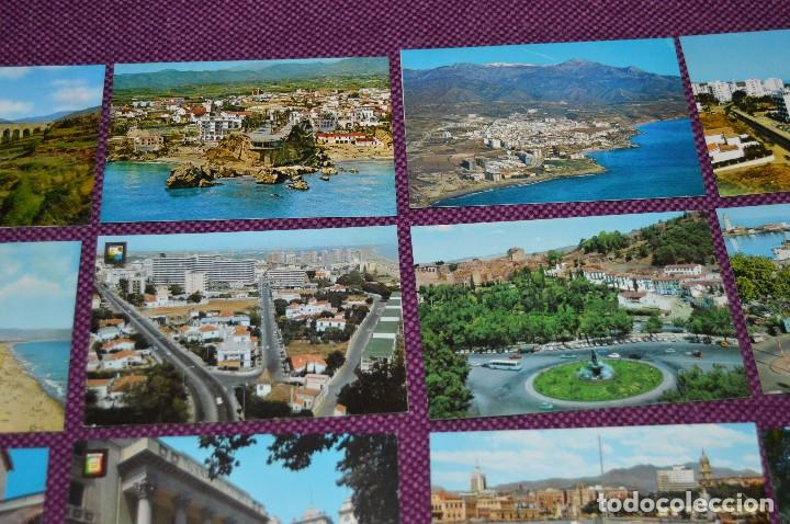 Postales: LOTE DE 34 POSTALES ANTIGUAS - MÁLAGA Y PROVINCIA - PRECIOSAS, MUY ANTIGUAS - AÑOS 60 - HAZME OFERTA - Foto 7 - 91576875