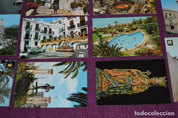 Postales: LOTE DE 34 POSTALES ANTIGUAS - MÁLAGA Y PROVINCIA - PRECIOSAS, MUY ANTIGUAS - AÑOS 60 - HAZME OFERTA - Foto 8 - 91576875