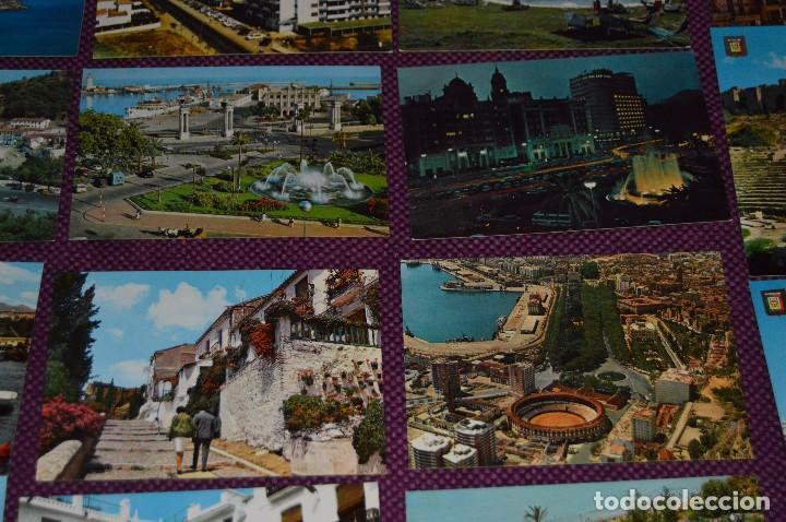Postales: LOTE DE 34 POSTALES ANTIGUAS - MÁLAGA Y PROVINCIA - PRECIOSAS, MUY ANTIGUAS - AÑOS 60 - HAZME OFERTA - Foto 9 - 91576875