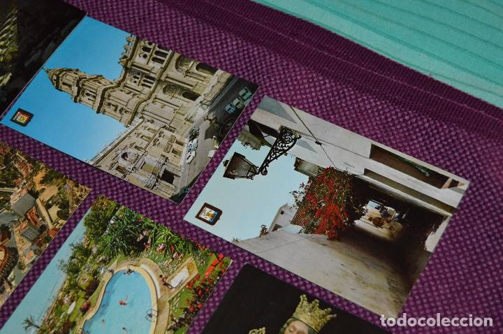 Postales: LOTE DE 34 POSTALES ANTIGUAS - MÁLAGA Y PROVINCIA - PRECIOSAS, MUY ANTIGUAS - AÑOS 60 - HAZME OFERTA - Foto 11 - 91576875