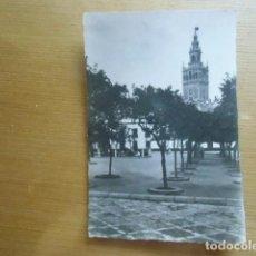 Postales: SEVILLA. PATIO DE BANDERAS Y GIRALDA.. Lote 91805655